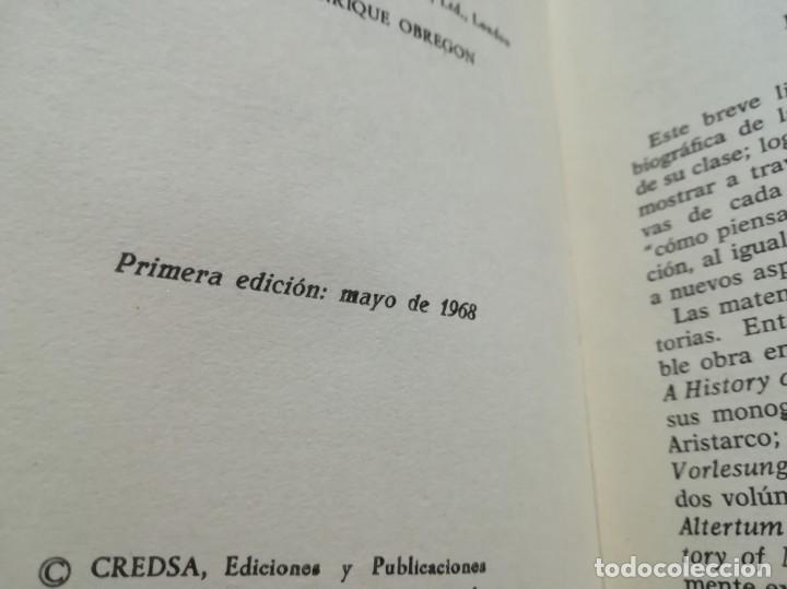 Libros de segunda mano de Ciencias: Los grandes matemáticos - H.W. Turnbull - 1ª edición 1968 - Foto 3 - 170194044