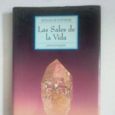 Libros de segunda mano: BIOSALES DE SCHÜSSLER. LAS SALES DE LA VIDA. - JOSÉ LUIS VÁZQUEZ. TDK389. Lote 170206788