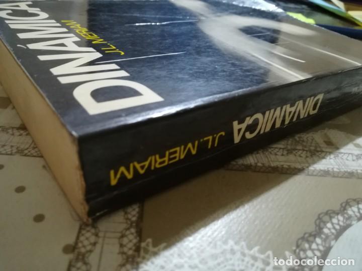 Libros de segunda mano de Ciencias: Dinámica - J.L. Meriam - Foto 5 - 170212304