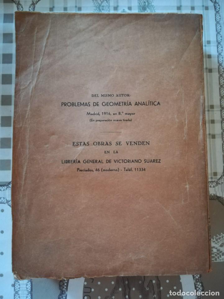 Libros de segunda mano de Ciencias: Geometría analítica - Miguel Vegas - Foto 2 - 170304672