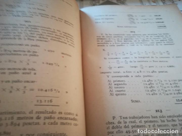 Libros de segunda mano de Ciencias: Colección de problemas de aritmética, geometría, álgebra y física elemental - V.F. Ascarza-E. Solana - Foto 4 - 170306728