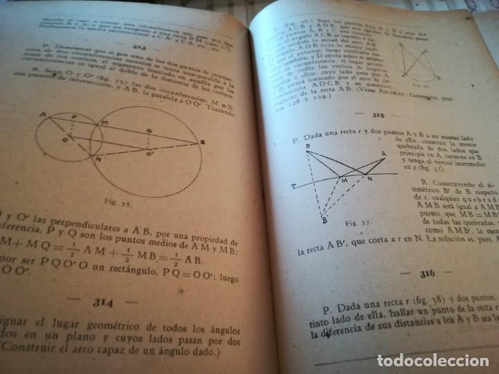 Libros de segunda mano de Ciencias: Colección de problemas de aritmética, geometría, álgebra y física elemental - V.F. Ascarza-E. Solana - Foto 6 - 170306728