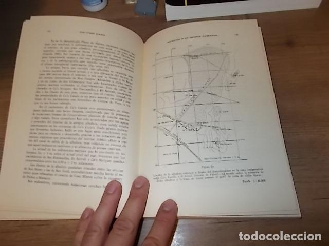 Libros de segunda mano: LOS TIEMPOS CUATERNARIOS EN BALEARES (MALLORCA,MENORCA ,IBIZA). JUAN CUERDA. 1ª EDICIÓN 1975. - Foto 15 - 170319966
