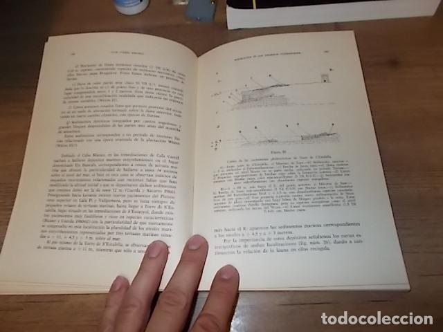 Libros de segunda mano: LOS TIEMPOS CUATERNARIOS EN BALEARES (MALLORCA,MENORCA ,IBIZA). JUAN CUERDA. 1ª EDICIÓN 1975. - Foto 16 - 170319966