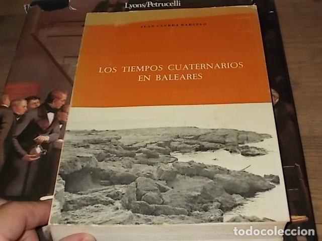 Libros de segunda mano: LOS TIEMPOS CUATERNARIOS EN BALEARES (MALLORCA,MENORCA ,IBIZA). JUAN CUERDA. 1ª EDICIÓN 1975. - Foto 23 - 170319966