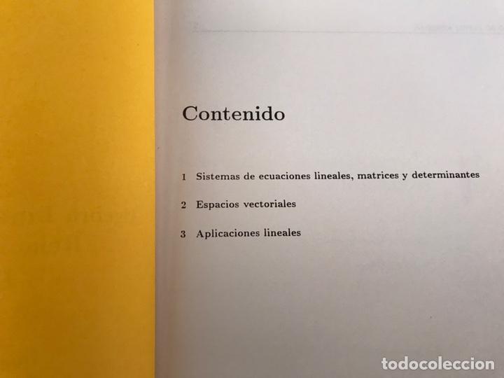 Libros de segunda mano de Ciencias: Álgebra lineal y geometría analítica. Relación de problemas. Universidad de Granada. 1996 - Foto 2 - 170368889