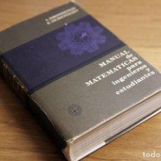 Libros de segunda mano de Ciencias: I. BRONSHTEIN Y K. SEMENDIAEV. MANUAL DE MATEMÁTICAS PARA INGENIEROS Y ESTUDIANTES. ED. MIR, 1982. Lote 170391024