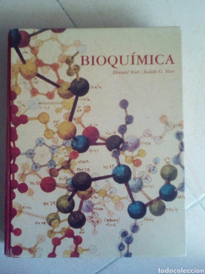 BIOQUIMICA - DONALD VOET - GRAN TAMAÑO - ILUSTRADO (Libros de Segunda Mano - Ciencias, Manuales y Oficios - Física, Química y Matemáticas)