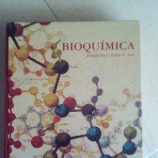 Libros de segunda mano de Ciencias: BIOQUIMICA - DONALD VOET - GRAN TAMAÑO - ILUSTRADO. Lote 170410812