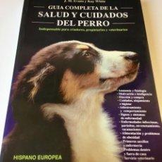 Libros de segunda mano: SALUD Y CUIDADOS DEL PERRO. Lote 170443064