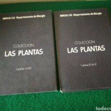 Libros de segunda mano: COLECCIÓN LAS PLANTAS 40 LAMINAS. Lote 170540980