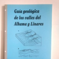 Libros de segunda mano: GUIA GEOLOGICA DE LOS VALLES DEL ALHAMA Y LINARES (LA RIOJA). ANTONIO M. CASAS SAINZ. TDK387. Lote 170552548