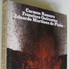 Libros de segunda mano: LOS VOLCANES - GUIA FISICA DE ESPAÑA, C. ROMERO, F. QUIRANTES, E. MARTINEZ DE PISON, ALIANZA EDIT.. Lote 170586705