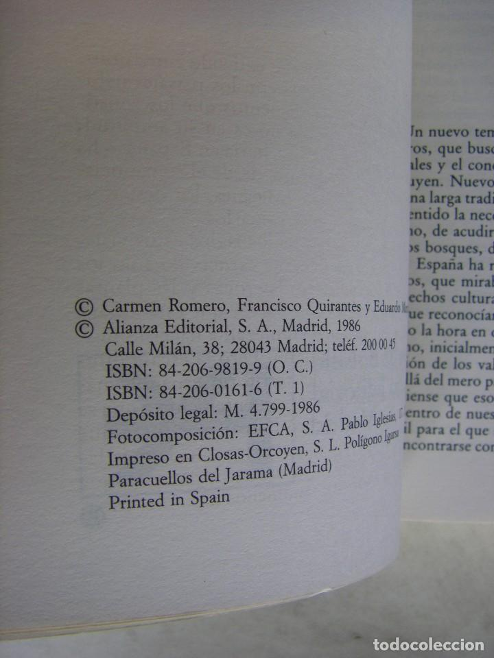 Libros de segunda mano: LOS VOLCANES - GUIA FISICA DE ESPAÑA, C. ROMERO, F. QUIRANTES, E. MARTINEZ DE PISON, ALIANZA EDIT. - Foto 3 - 170586705
