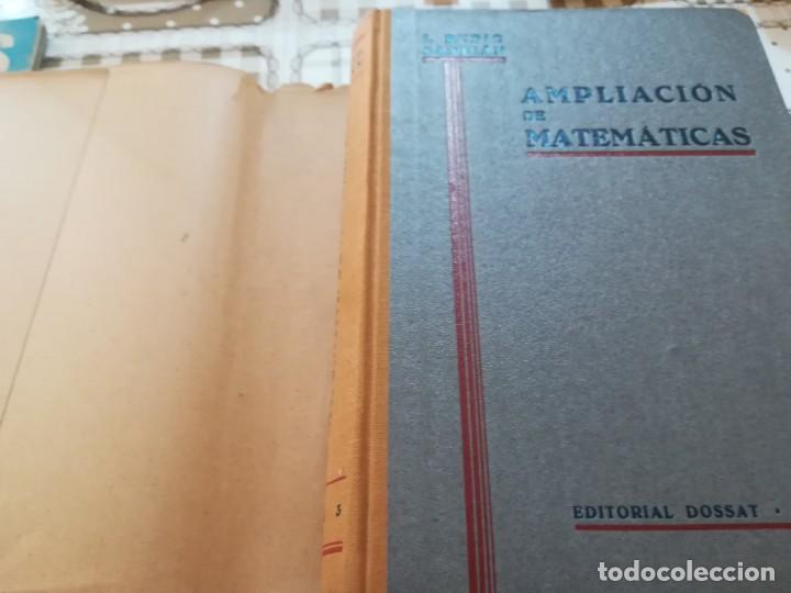 Libros de segunda mano de Ciencias: Ampliación de Matemáticas para químicos, mecánicos y electricistas - I. Rubio Sanjuán - 1943 - Foto 3 - 170853460