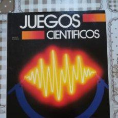 Libros de segunda mano de Ciencias: JUEGOS CIENTÍFICOS - PAOLO CALVANI. Lote 170857325