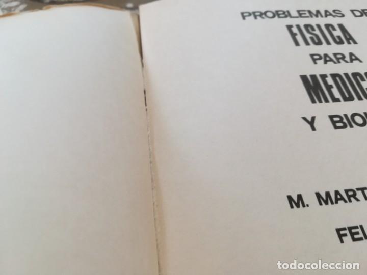 Libros de segunda mano de Ciencias: Problemas de física para médicos y biólogos - Félix A. González / M. Martínez Hernández - 1975 - Foto 3 - 170862185