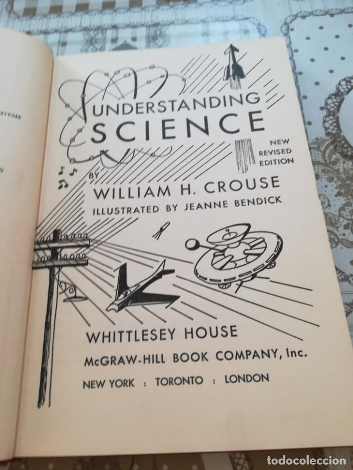 Libros de segunda mano de Ciencias: Understanding science - William H. Crouse - en inglés - Foto 2 - 170862650