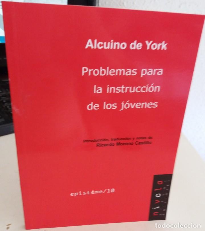 PROBLEMAS PARA LA INSTRUCCIÓN DE LOS JÓVENES - DE YORK, ALCUINO (Libros de Segunda Mano - Ciencias, Manuales y Oficios - Física, Química y Matemáticas)