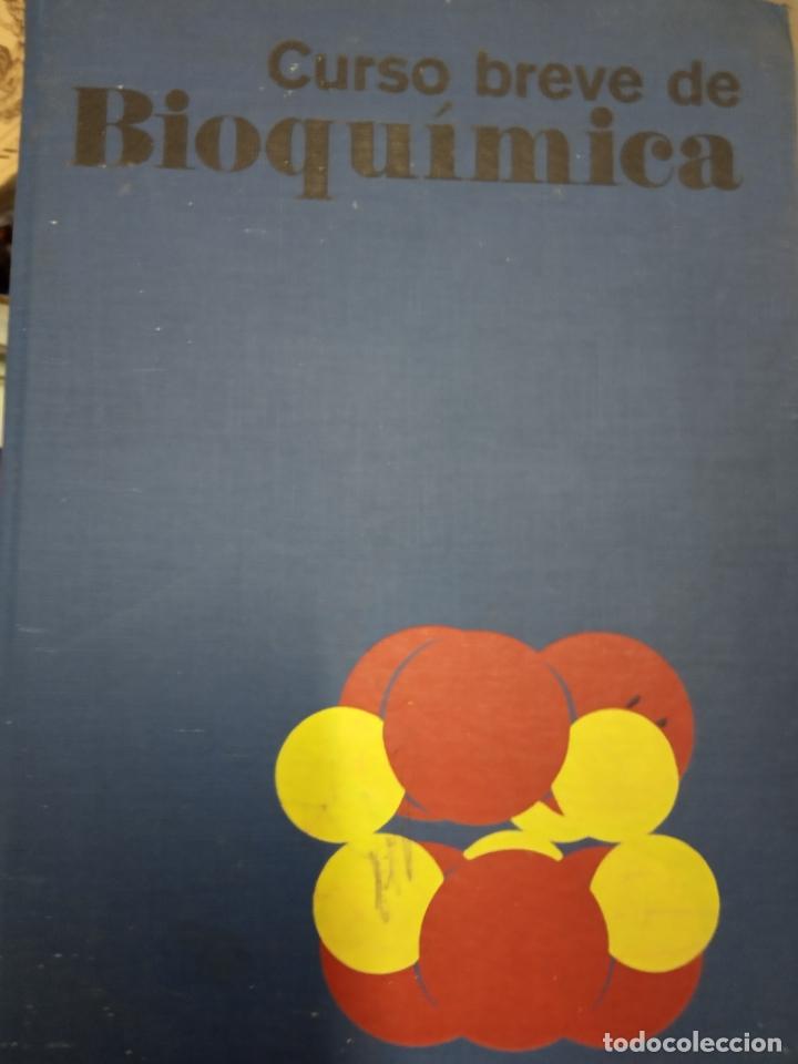 CURSO BREVE DE BIOQUÍMICA POR ALBERT L. LEHNINGER DE ED. OMEGA -1976 (Libros de Segunda Mano - Ciencias, Manuales y Oficios - Física, Química y Matemáticas)
