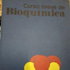 Libros de segunda mano de Ciencias: CURSO BREVE DE BIOQUÍMICA POR ALBERT L. LEHNINGER DE ED. OMEGA -1976. Lote 170936725