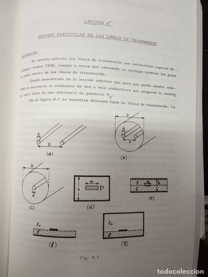 Libros de segunda mano de Ciencias: vicente ortega castro -introducción a la teoría de microondas tomo1 lineas de transmisión y guiandas - Foto 2 - 171102398