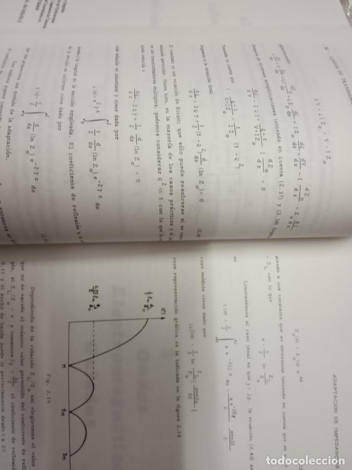 Libros de segunda mano de Ciencias: vicente ortega castro -introducción a la teoría de microondas tomo1 lineas de transmisión y guiandas - Foto 3 - 171102398