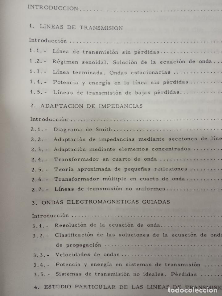 Libros de segunda mano de Ciencias: vicente ortega castro -introducción a la teoría de microondas tomo1 lineas de transmisión y guiandas - Foto 4 - 171102398