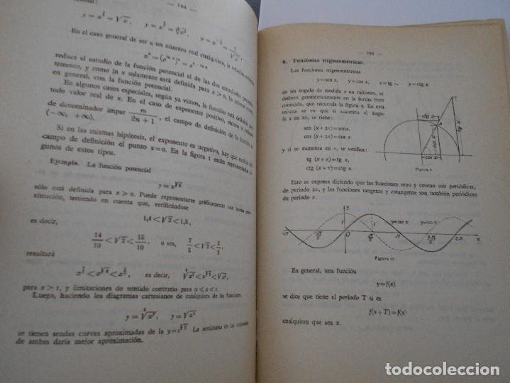 Libros de segunda mano de Ciencias: COMPLEMENTOS DE MATEMATICAS. SIXTO RIOS. CATEDRATICO DE LA UNIVERSIDAD DE MADRID. MADRID, 1956. TAPA - Foto 2 - 171218302