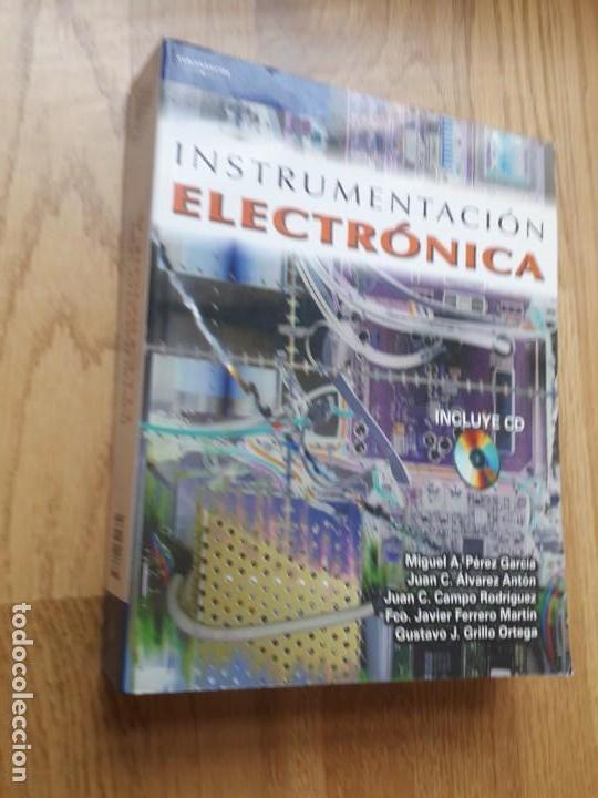 INSTRUMENTACIÓN ELECTRÓNICA / MIGUEL A. PÉREZ GARCÍA Y OTROS / NOTA: NO CONTIENE EL CD (Libros de Segunda Mano - Ciencias, Manuales y Oficios - Física, Química y Matemáticas)