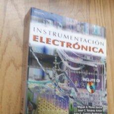 Libros de segunda mano de Ciencias: INSTRUMENTACIÓN ELECTRÓNICA / MIGUEL A. PÉREZ GARCÍA Y OTROS / NOTA: NO CONTIENE EL CD. Lote 171244393