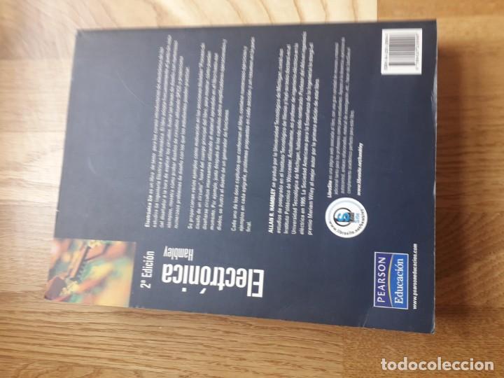 Libros de segunda mano de Ciencias: ELECTRÓNICA / ALLAN R. HAMBLEY / PEARSON PRENTICE HALL, 2ª EDICIÓN, 2003 / 903 PÁGINAS - Foto 5 - 171244935