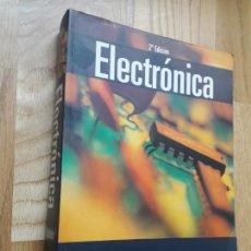 Libros de segunda mano de Ciencias: ELECTRÓNICA / ALLAN R. HAMBLEY / PEARSON PRENTICE HALL, 2ª EDICIÓN, 2003 / 903 PÁGINAS. Lote 171244935