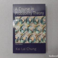 Libros de segunda mano de Ciencias: A COURSE IN PROBABILITY THEORY, THIRD EDITION POR KAI LAI CHUNG (2000) - CHUNG, KAI LAI. Lote 171313775