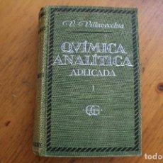 Libros de segunda mano de Ciencias: QUIMICA ANALITICA APLICADA3. Lote 171443903