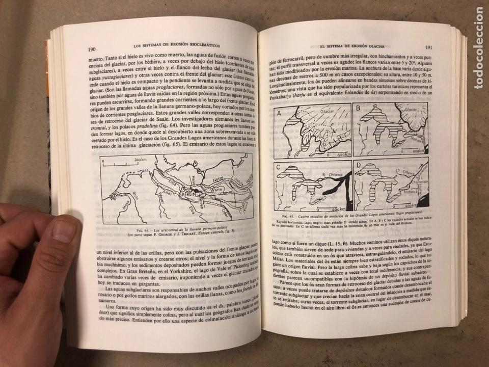 Libros de segunda mano: GEOMORFOLOGÍA. MAX DERRUAU. EDITORIAL ARIEL 1978. ILUSTRADO. 528 PÁGINAS. - Foto 11 - 171464300