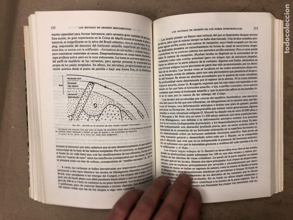 Libros de segunda mano: GEOMORFOLOGÍA. MAX DERRUAU. EDITORIAL ARIEL 1978. ILUSTRADO. 528 PÁGINAS. - Foto 12 - 171464300