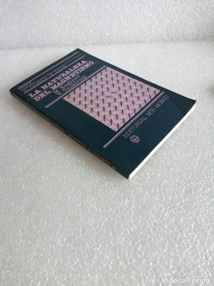 LA NATURALEZA DEL MAGNETISMO / M. KAGÁNOV - V. TSUKÉRNIK MIR (Libros de Segunda Mano - Ciencias, Manuales y Oficios - Física, Química y Matemáticas)