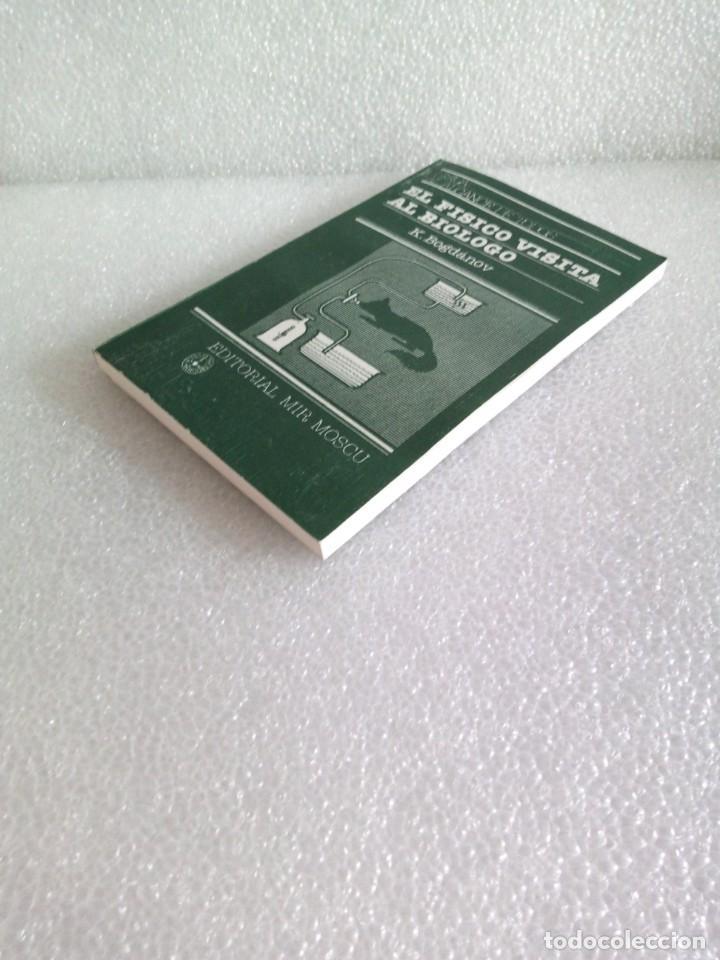 Libros de segunda mano de Ciencias: El físico visita al biólogo por K. Bogdánov de Ed. Mir en Moscú - stock libreria sin uso - Foto 2 - 171487853