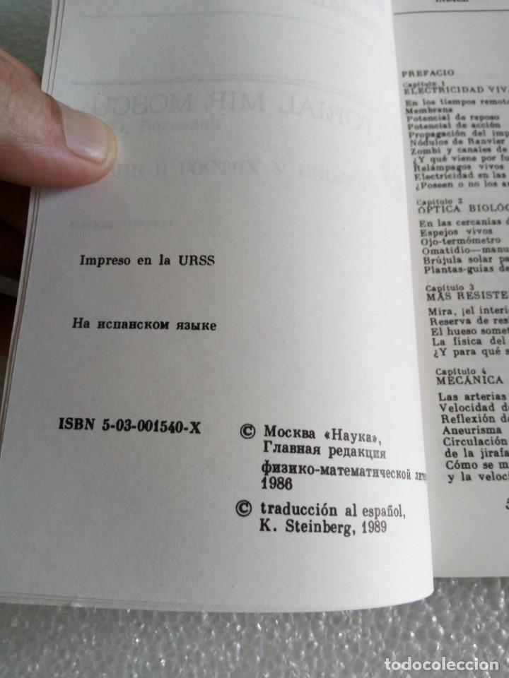 Libros de segunda mano de Ciencias: El físico visita al biólogo por K. Bogdánov de Ed. Mir en Moscú - stock libreria sin uso - Foto 4 - 171487853