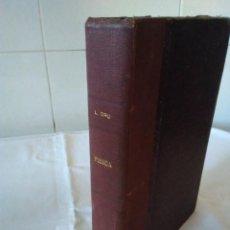 Libros de segunda mano de Ciencias: 93-FISICA POR LUIS BRU VILLASECA, 1949. Lote 171495770