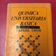 Libros de segunda mano de Ciencias: QUÍMICA UNIVERSITARIA BÁSICA. Lote 171583839