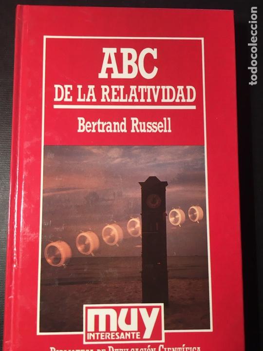 ABC DE LA RELATIVIDAD, B. RUSSELL (Libros de Segunda Mano - Ciencias, Manuales y Oficios - Física, Química y Matemáticas)