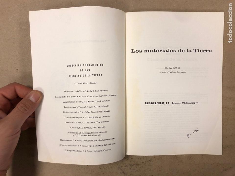 Libros de segunda mano: LOTE 5 LIBROS COLECCIÓN FUNDAMENTOS DE LAS CIENCIAS DE LA TIERRA DE EDICIONES OMEGA. - Foto 3 - 171599452