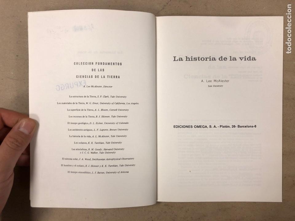 Libros de segunda mano: LOTE 5 LIBROS COLECCIÓN FUNDAMENTOS DE LAS CIENCIAS DE LA TIERRA DE EDICIONES OMEGA. - Foto 9 - 171599452