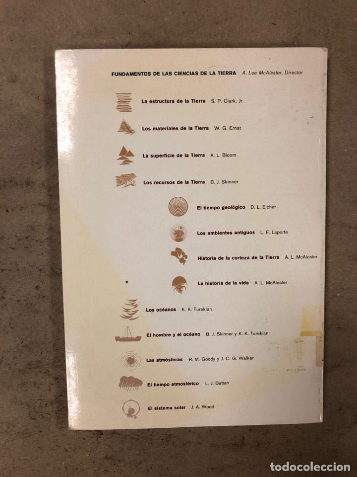 Libros de segunda mano: LOTE 5 LIBROS COLECCIÓN FUNDAMENTOS DE LAS CIENCIAS DE LA TIERRA DE EDICIONES OMEGA. - Foto 13 - 171599452