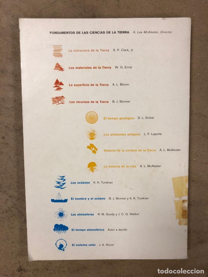 Libros de segunda mano: LOTE 5 LIBROS COLECCIÓN FUNDAMENTOS DE LAS CIENCIAS DE LA TIERRA DE EDICIONES OMEGA. - Foto 19 - 171599452