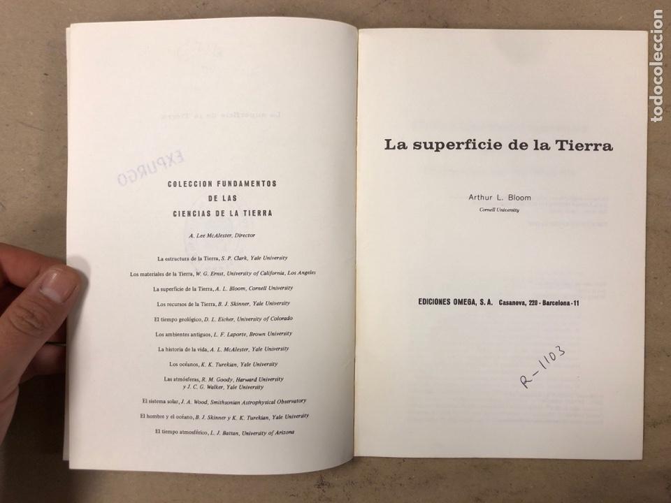 Libros de segunda mano: LOTE 5 LIBROS COLECCIÓN FUNDAMENTOS DE LAS CIENCIAS DE LA TIERRA DE EDICIONES OMEGA. - Foto 21 - 171599452
