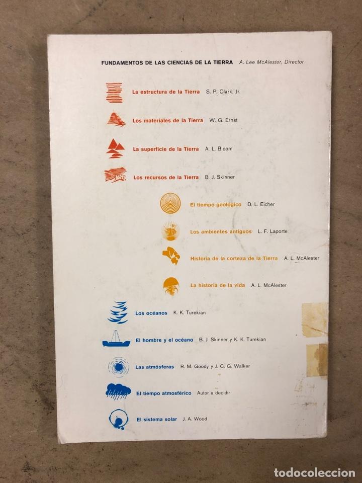 Libros de segunda mano: LOTE 5 LIBROS COLECCIÓN FUNDAMENTOS DE LAS CIENCIAS DE LA TIERRA DE EDICIONES OMEGA. - Foto 26 - 171599452