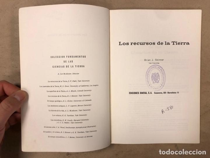 Libros de segunda mano: LOTE 5 LIBROS COLECCIÓN FUNDAMENTOS DE LAS CIENCIAS DE LA TIERRA DE EDICIONES OMEGA. - Foto 28 - 171599452
